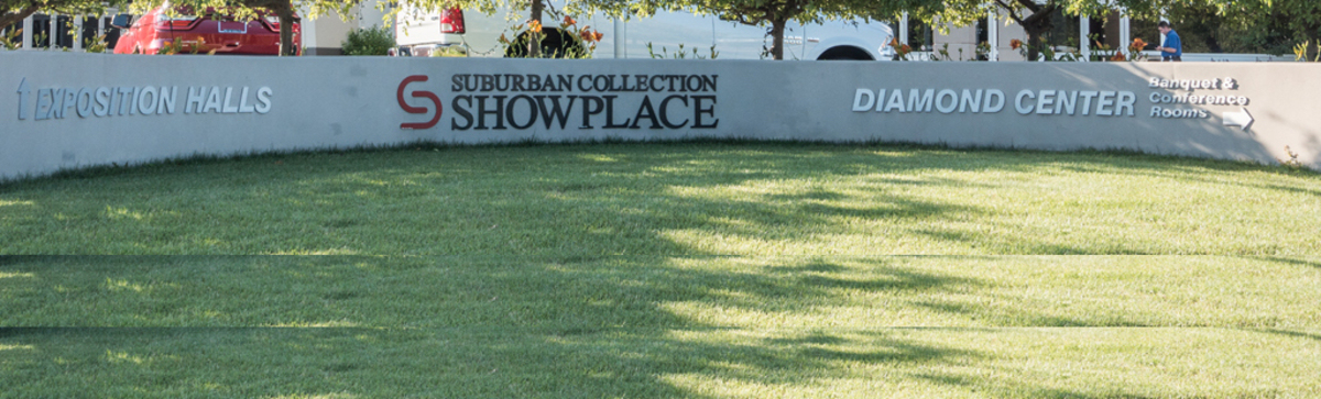 Located at the Suburban Collection Showplace